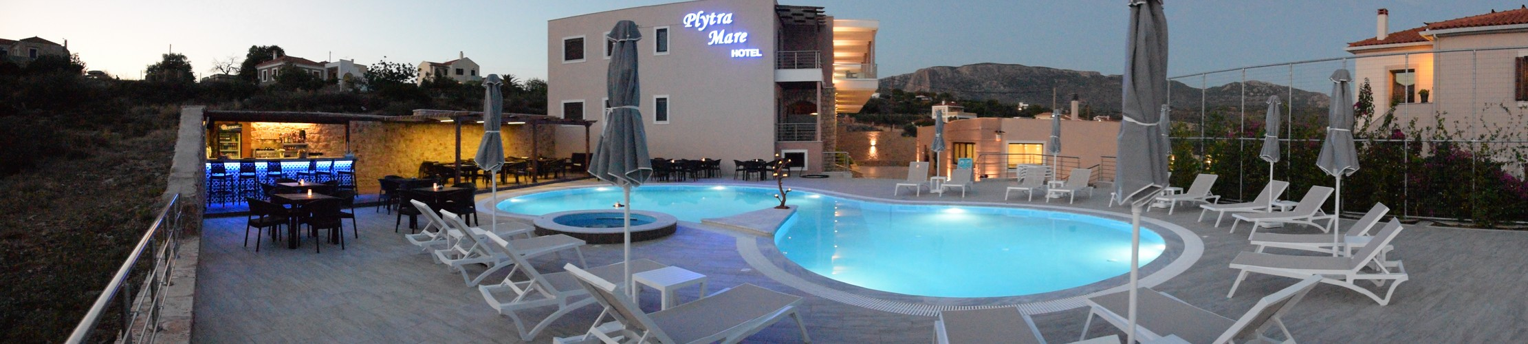 panoramic view of hotel plytra mare